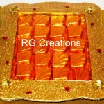 Code RGCP-0122,Chocolate gift pack designed by RG Creations