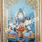 Code RGCPW030,Decorative Shiv Painting