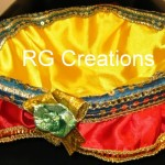 Code RGDB022,Designer basket for dry fruits packing