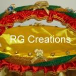 Code RGDB023,Designer basket for saree/suit packing