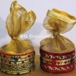 Code RGDB040,Designer potli for dry fruits/chocolate packing