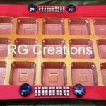 Code RGDTR004,15 cavities chocolate tray