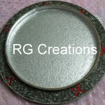 """Code RGDTR006,15""""x15"""" designer tray for dry fruits/chocolate/trousseau packing"""