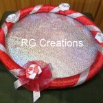 """Code RGDTR030,10""""x10"""" designer tray for dry fruits/cookies packing"""