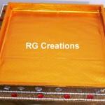 "Code RGDTR039,14""x16"" designer tray for packing"