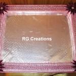 "Code RGDTR040,13""x16"" designer tray for packing"