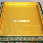 "Code RGDTR043,14""x16"" designer tray for packing"