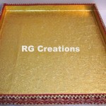"Code RGDTR050,14""x16"" designer tray for packing"