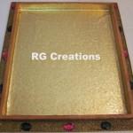 "Code RGDTR054,14""x16"" designer tray for packing"