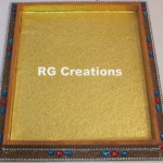 "Code RGDTR055,14""x16"" designer tray for packing"