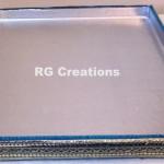 "Code RGDTR057,14""x16"" designer tray for packing"