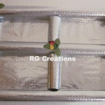 """Code RGDTR065,8""""x12"""" Designer four parts tray for dry fruits packing"""