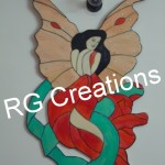 Code RGFA013,Fairy chemical painting