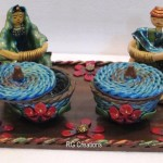 "Code RGHMB0086""Handmade Bowls with Figurative Work """