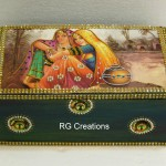 Code RGJB010,Jewellery Box designed by RG Creations