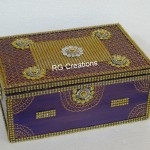 Code RGJB011,Jewellery Box designed by RG Creations