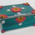 Code RGJB012,Jeweller Box designed by RG Creations