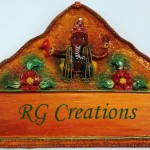 Code RGNP083,Handcrafted Name Plate for Home decor