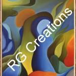 Code RGOIL023,Oil on canvas