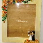 """Code RGPF037""""Handmade Photoframe"""""""