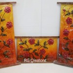 Code RGPNL010,Set of three Pannels for Home decor