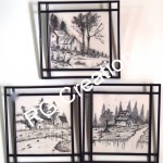 Code RGPP021,Pen Paintings for home/office decor