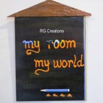 Code RGQT018,Children Room Name Plate