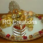 """Code RGRP010 """"Designer Ring ceremony platter"""""""