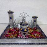 """Code RGRP0104 """" Designer Ring Ceremony Platter"""""""