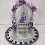 """Code RGRP0108"""" Designer Ring Ceremony Platter"""""""
