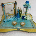 """Code RGRP0110 """" Designer Ring Ceremony Platter"""""""