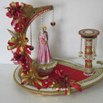 """Code RGRP0112 """" Designer Ring Ceremony Platter"""""""