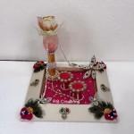 """Code RGRP0114 """" Designer Ring Ceremony Platter"""""""