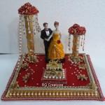 """Code RGRP0115 """" Designer Ring Ceremony Platter"""""""