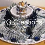 """Code RGRP012 """"Designer Ring ceremony platter"""""""
