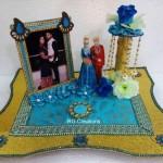 """Code RGRP0121 """" Designer Ring Ceremony Platter"""""""