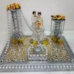 """Code RGRP0126 """" Designer Ring Ceremony Platter"""""""