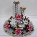 "Code RGRP0127 "" Designer Ring Ceremoy Platter"""