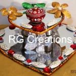 """Code RGRP013 """"Designer Ring ceremony platter"""""""