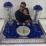 """Code RGRP0137 """" Designer Ring Ceremony Platter"""""""