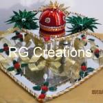 """Code RGRP014 """"Designer Ring ceremony platter"""""""