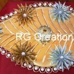 """Code RGRP015 """"Designer Ring ceremony platter"""""""