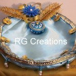 """Code RGRP018 """"Designer Ring ceremony platter"""""""