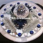 """Code RGRP019 """"Designer Ring Ceremony Platter"""""""