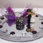 """Code RGRP021 """"Designer Ring Ceremony Platter"""""""
