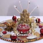 """Code RGRP022 """"Designer Ring Ceremony Platter"""""""