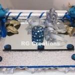 """Code RGRP024 """"Designer Ring Ceremony Platter"""""""