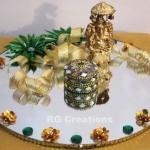 """Code RGRP026 """"Designer Ring Ceremony Platter"""""""