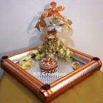 """Code RGRP028  """"Designer Ring Ceremony Platter"""""""
