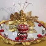 """Code RGRP029 """" Designer Ring Ceremony Platter."""""""